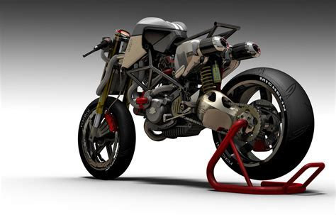 Ducati S2 Braida Concept Fighter by Paolo Tesio autoevolution