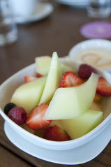 Fresh Seasonal Fruit, Orgganic Honey and Yoghurt, Bills, Sitirigahama