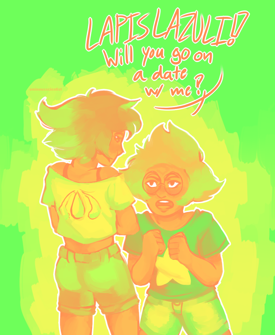 peridot has no idea what subtlety is, insert interrobangs here palette used: