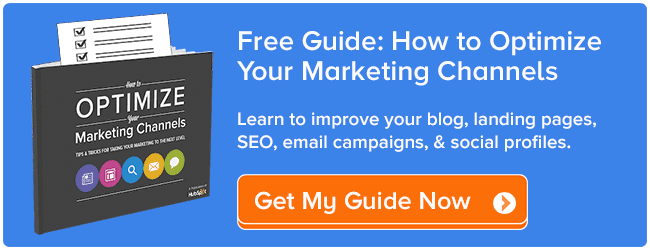 optimize marketing channels