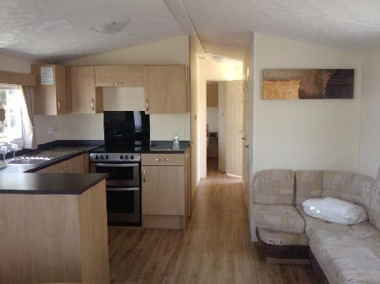 Inside caravan 1 - Picture of Vauxhall Holiday Park, Great ...