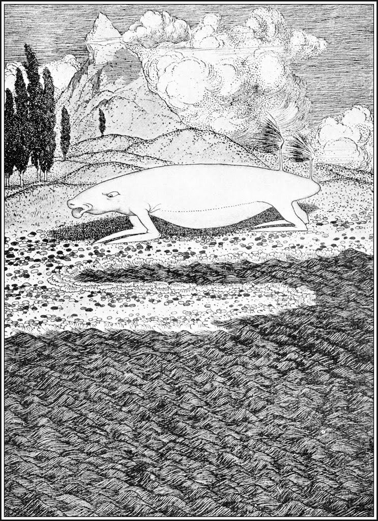 Sidney Sime - The Two-Tailed Sogg (1923)