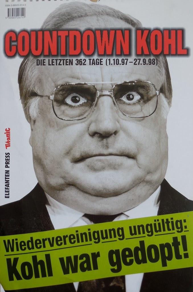 Widervereinigung ungültig: Kohl war gedopt!