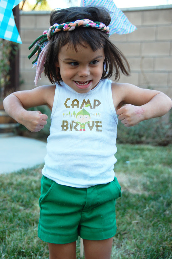 brave's birthday camp out