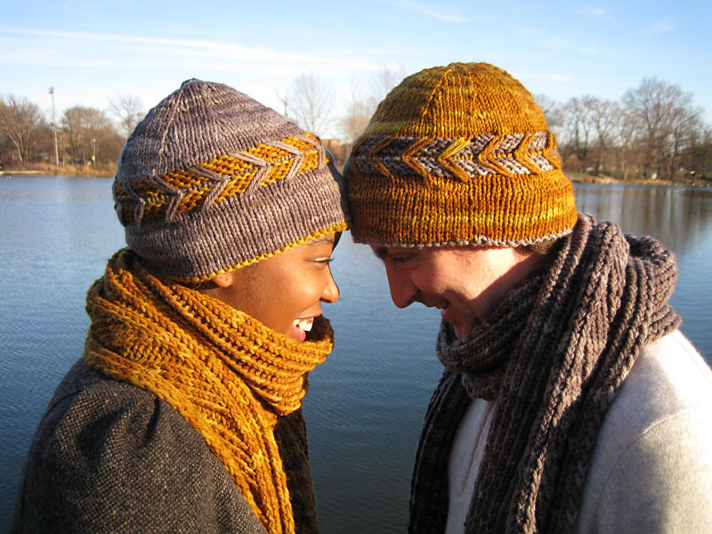 Modèle de tuque tricotée Oliver Toque par Sarah Burghardt Abram