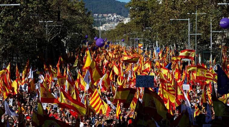 Catalonia, Spain, Catalonia elections, Catalonia separatists, Catalonia referendum, EU, indian express