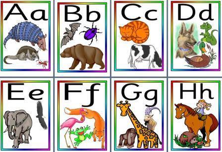 Free EYS KS1 Literacy Teaching Resource - Animal Alphabet Frieze ...
