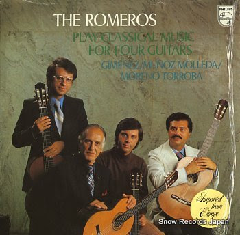 ROMEROS, THE music for four guitars