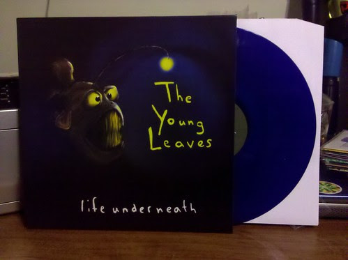 Young Leaves - Life Underneath LP - Blue Vinyl / 100