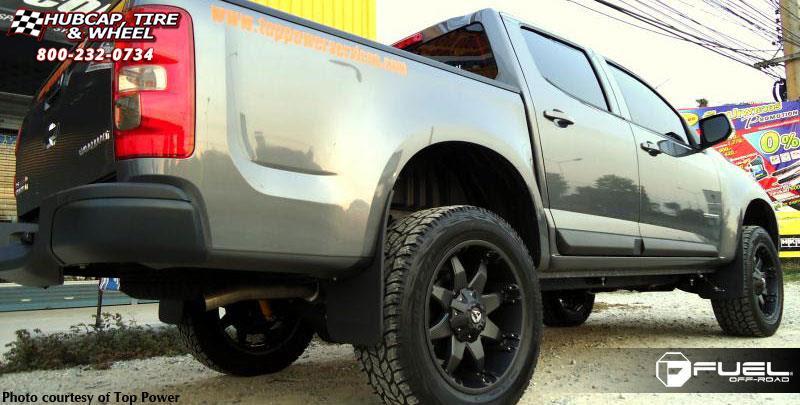 Chevrolet Colorado Fuel Octane D509 Wheels Matte Black
