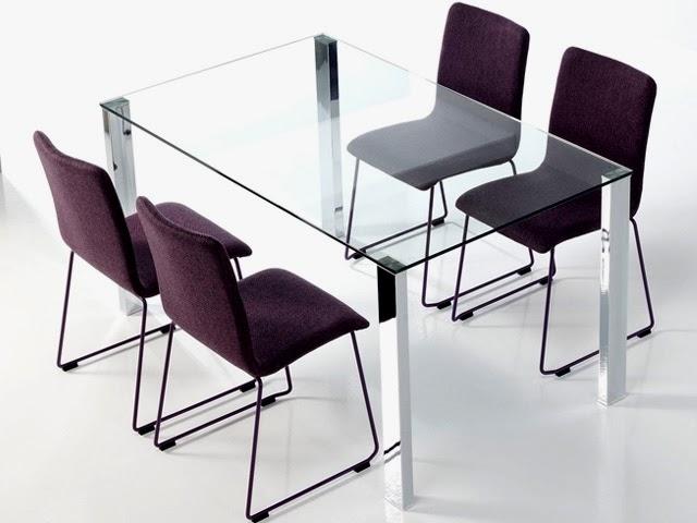 Mesas de cristal para comedor ventajas for Como limpiar una mesa de marmol manchada