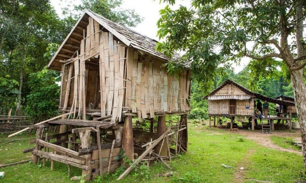 Bombas não detonadas encontram uso diário nas aldeias do Laos 08
