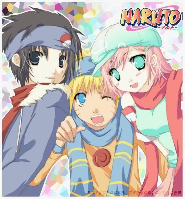 Naruto Team 7 Iphone Wallpaper