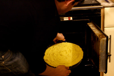 Sherpa's pie in the oven