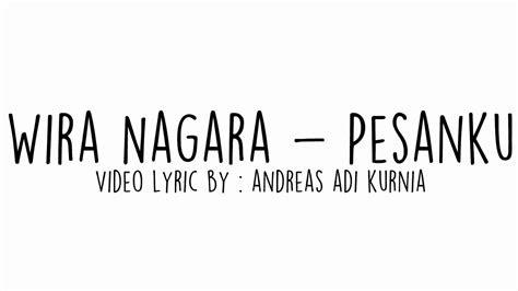 pesanku wira nagara video lyric puisi  youtube