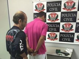 Homem suspeito de participar de homicídios é preso em São José (Foto: Divulgação/DIG)