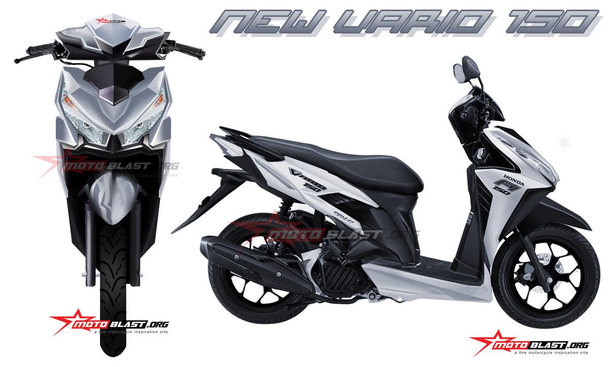 81 Modifikasi Motor Vario 150 Thailand Terlengkap Oneng Motomania