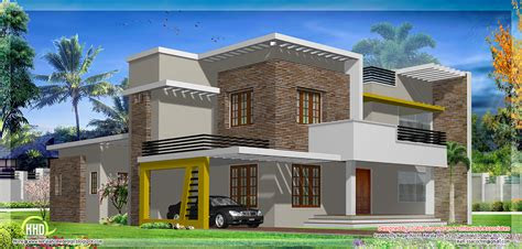 modern flat roof house design plans house plans