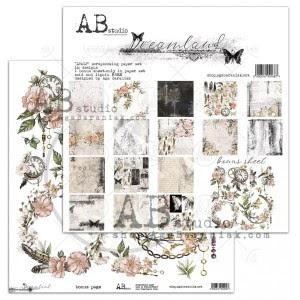 Dreamland - zestaw papierów 30,5cm x 30,5cm ABstudio