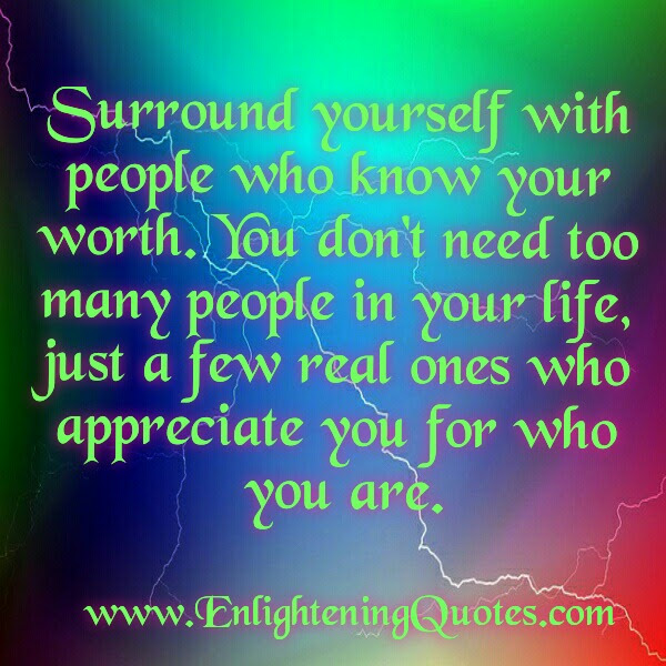 You Dont Need Too Many People In Your Life Enlightening Quotes