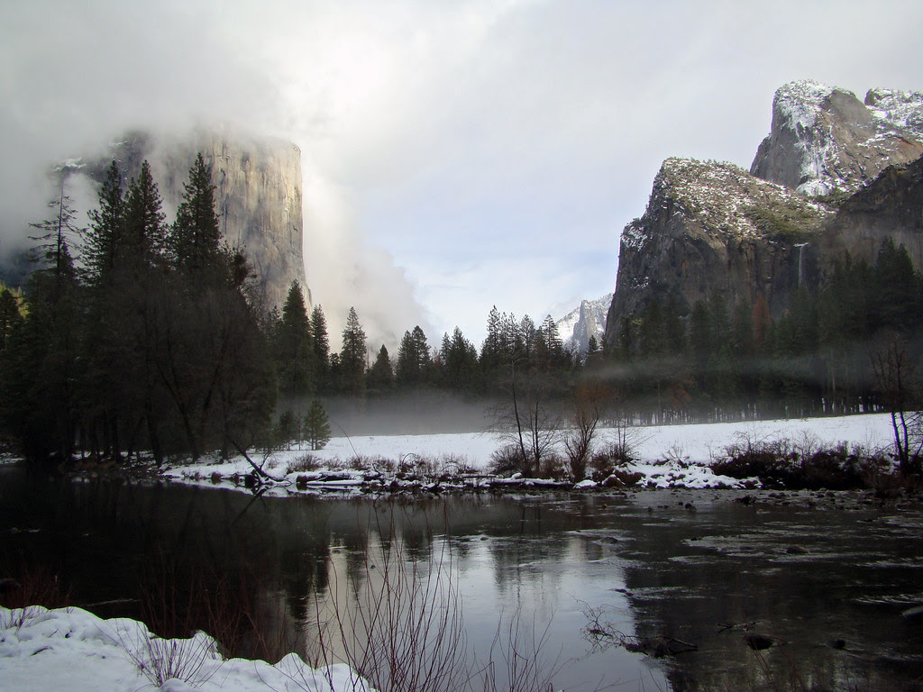 DSC04134 Yosemite - Merced River and El Capitan
