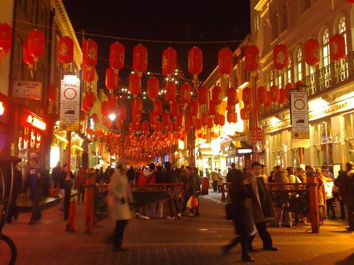 Chinatown in Chinese New Year
