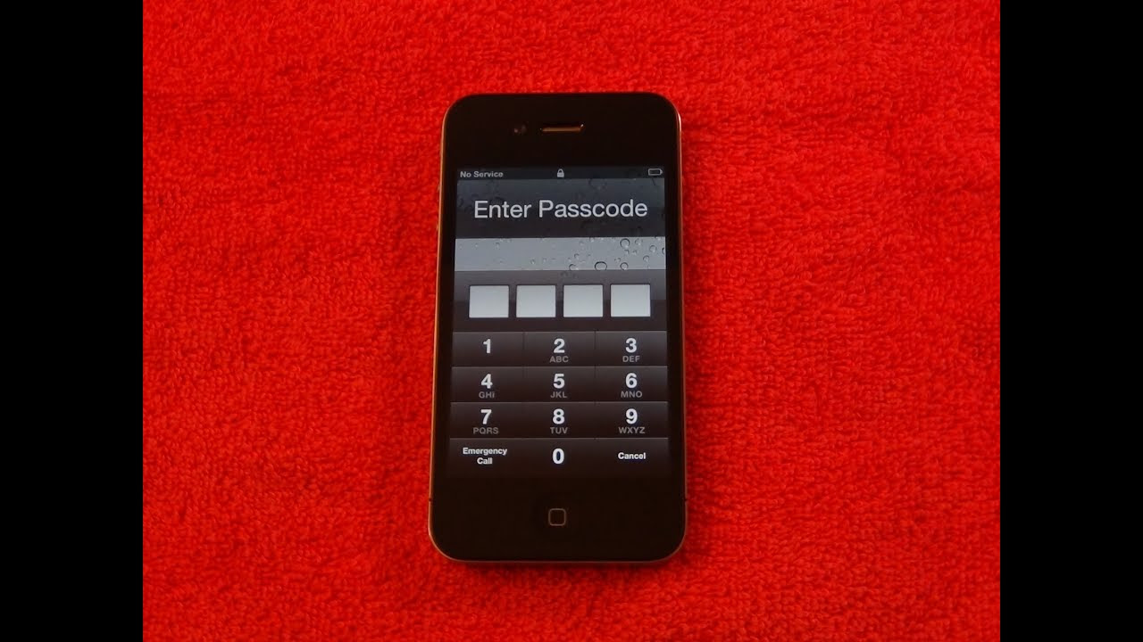 How To: Remove Forgotten PASSCODE unlock | iPhone 5 4S & 4 | iPad 2 & 3 | iPod touch | & iOS ...