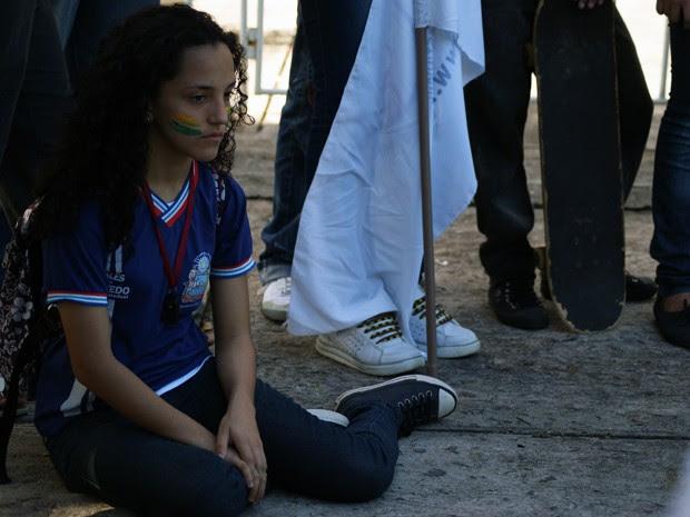 Estudantes Bahia Salvador (Foto: Egi Santana/G1)