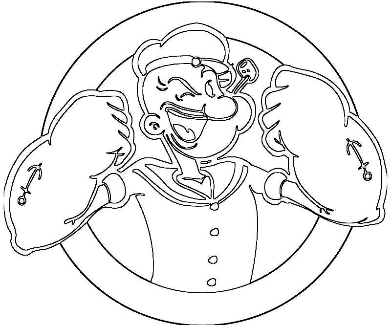 Popeye Coloring Sheets to Print