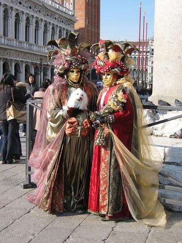 Venice-Carnival Dog