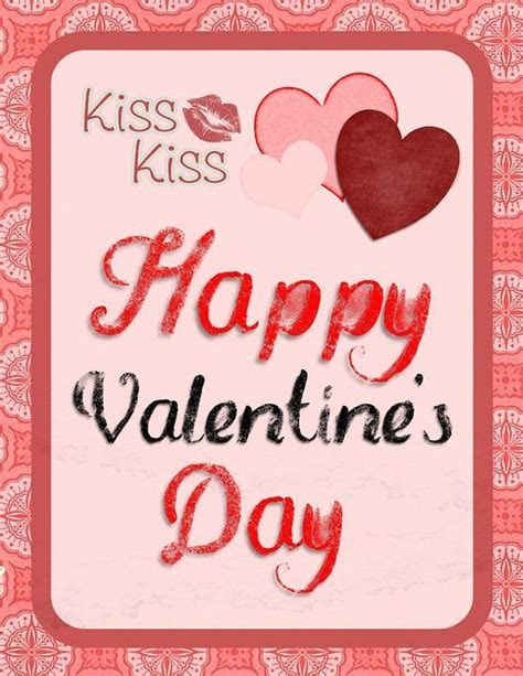 Kiss Kiss Happy Valentine's Day Pictures, Photos, and