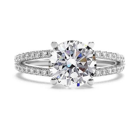 Split Shank Diamond Engagement Ring (Setting Only)