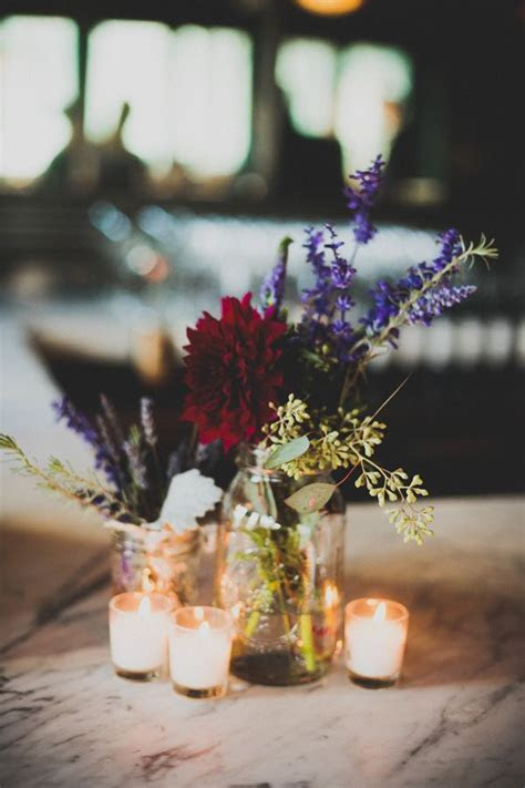 Autumn wedding Table centerpieces for varying wedding themes