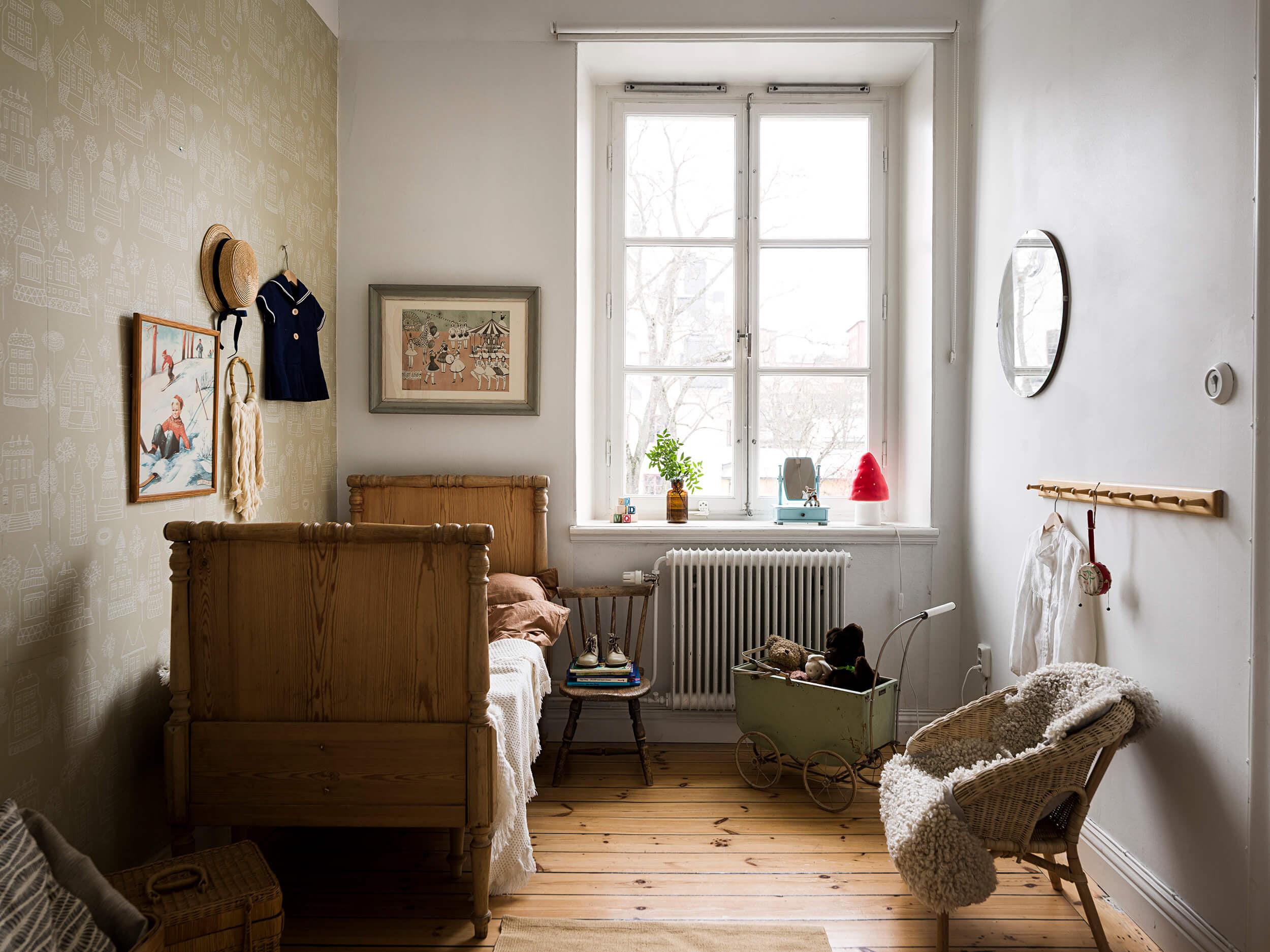 Vintage family haven in Stockholm