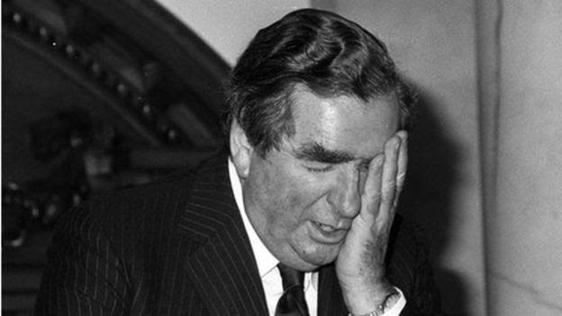 Denis Healey in 1976