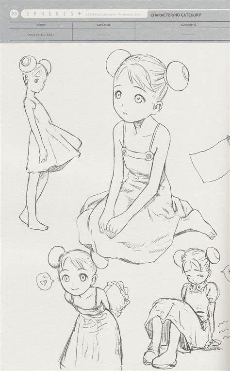 anime girl drawing reference