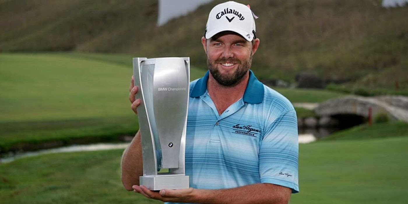 Marc Leishman with BMW trophy