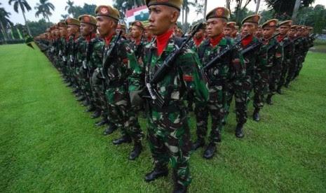 Tentara Nasional Indonesia yang dikirim ke Papua/ilustrasi
