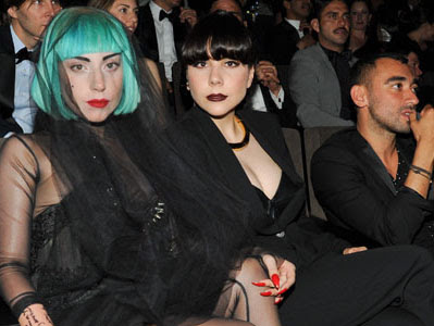 Lady Gaga and her sister Natali Germanotta
