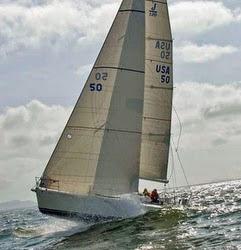 J/120 family cruising sailboat- sailing Oregon Offshore race