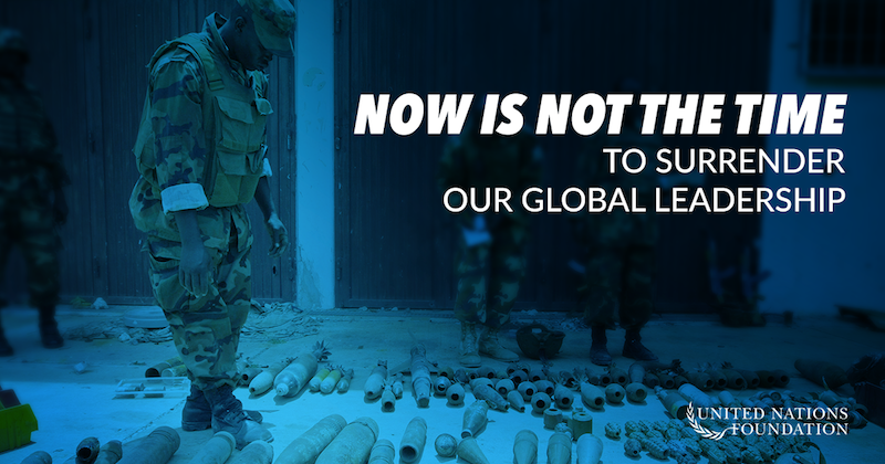 The UN and its lifesaving agencies could see massive cuts that would put lives at risk