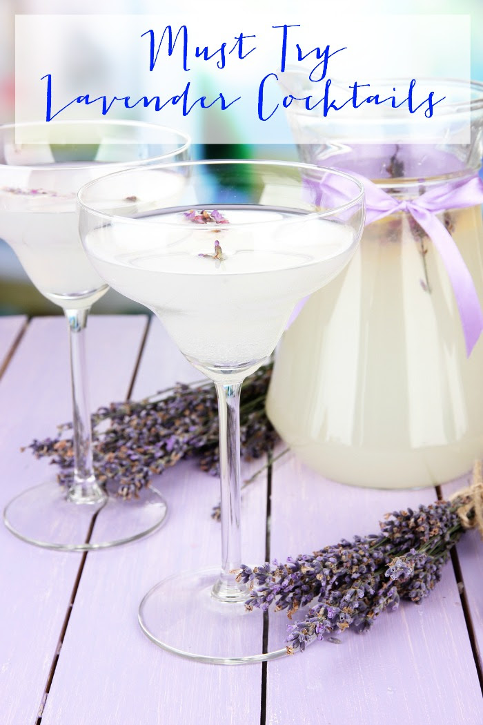 Must Try Lavender Cocktails - Pink Heels Pink Truck