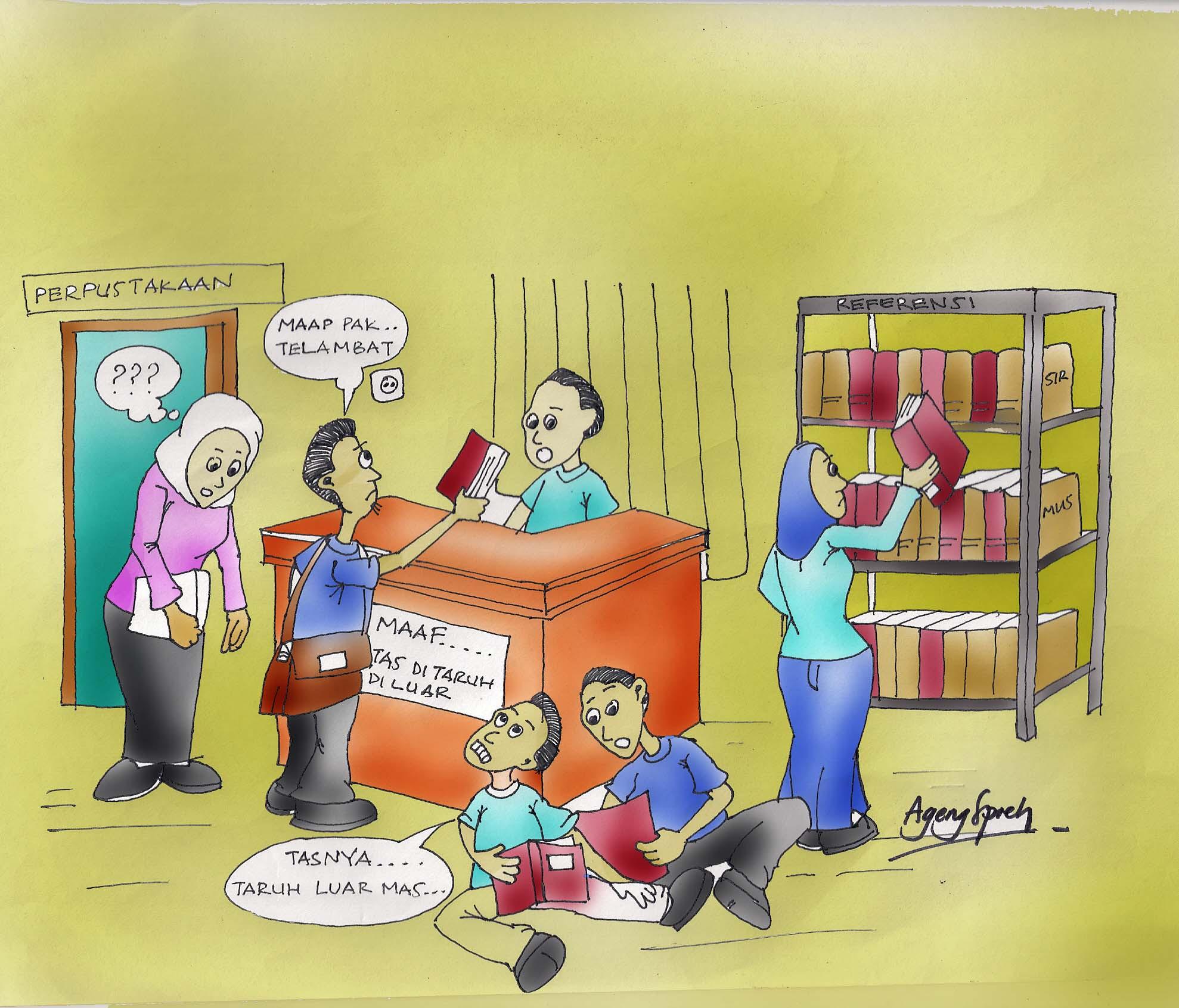 Perpustakaan Kartun Si Ageng Spreh