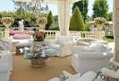The outdoor living room designs with light colored sofas | ideas ...