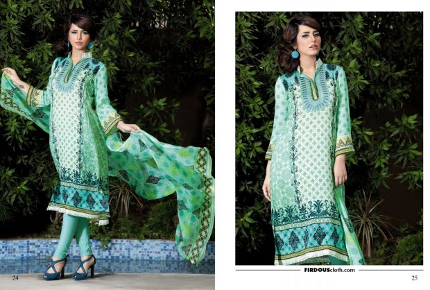 Firdous-Chiffon-Summer-Lawn-Collection-2013-Long-Shirt-with-Short-Tight-Trouser-6