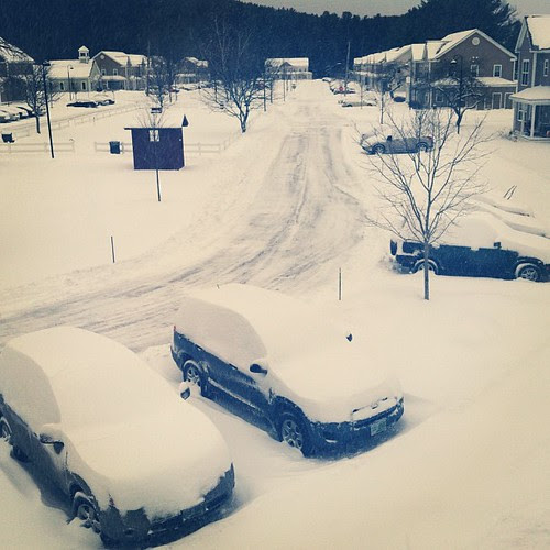 And it's still snowing.... #snowpocalypse #nemo