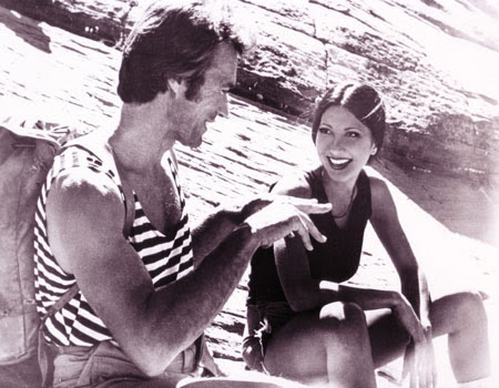 Brenda Venus with Clint Eastwood