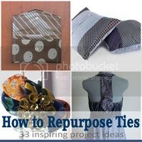 recycled tie DIY inspiration