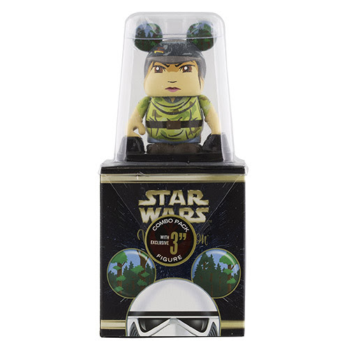 Star Wars Vinylmation Series 6: ROTJ Combo Topper Featuring Princess Leia | Anakin And His Angel