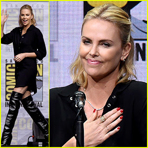 Charlize Theron Talks About Gender Pay Gap at Comic-Con